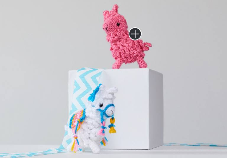 Easy Larry and Linda Crochet Llama