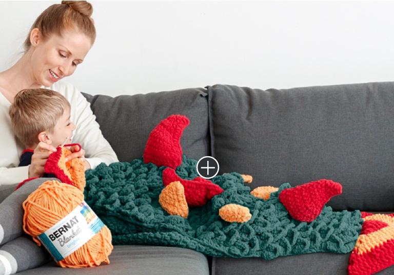 Intermediate Skein of Thrones Crochet Snuggle Sack