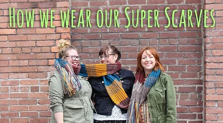 Staff Edit: Super Scarf Style