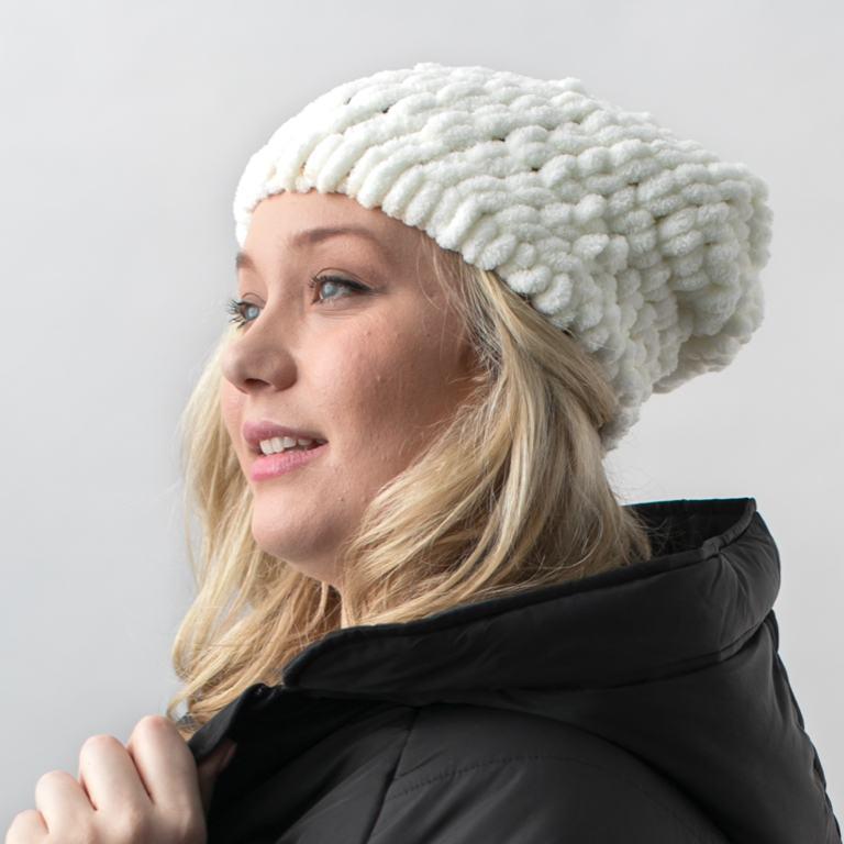 Bernat Blanket-EZ Adult Hat