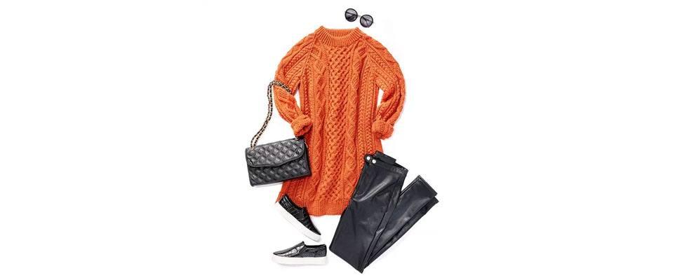 Honeycomb Aran Dress Casual Cool