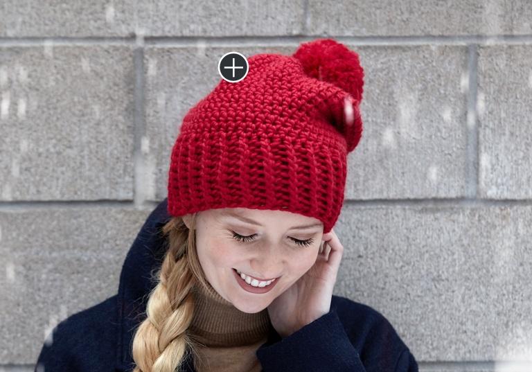 Easy Simple Crochet Hat