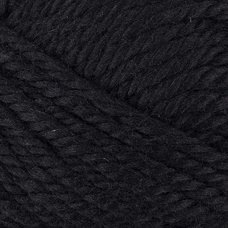 E856 Red Heart Soft Essentials yarn in 7002 Black
