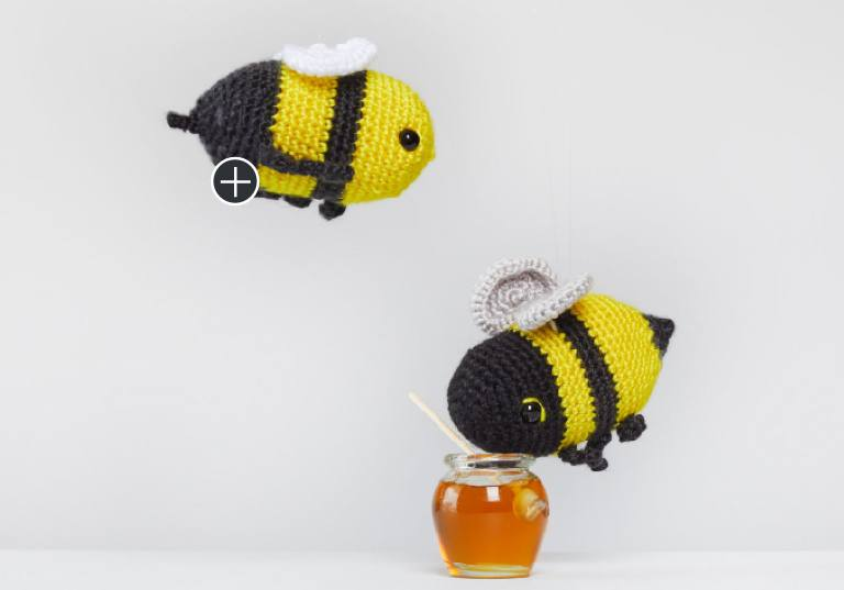 Easy Henry and Honey Crochet Bumblebee