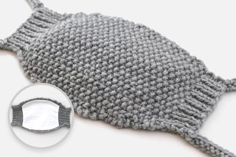 Knit Face Mask Pattern