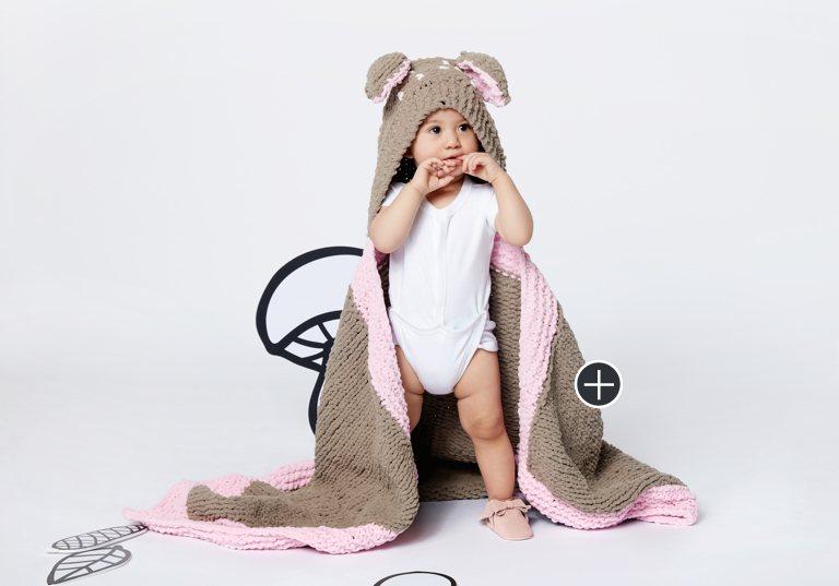 Easy Oh Deer Blanket