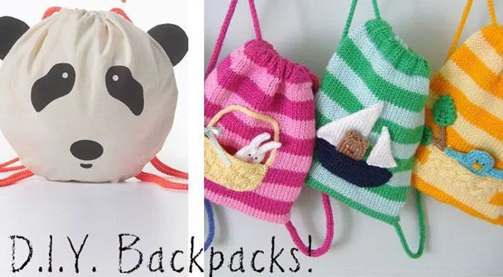 Top 5 Backpacks to Knit, Crochet & Sew!