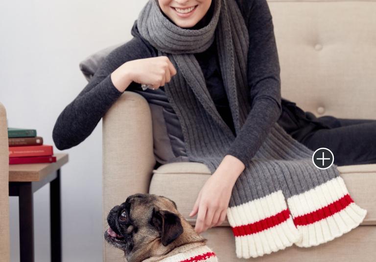 Easy Knit Work Sock Scarf