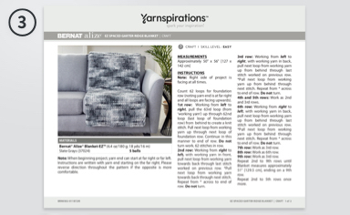 Select patterns for your guests 13